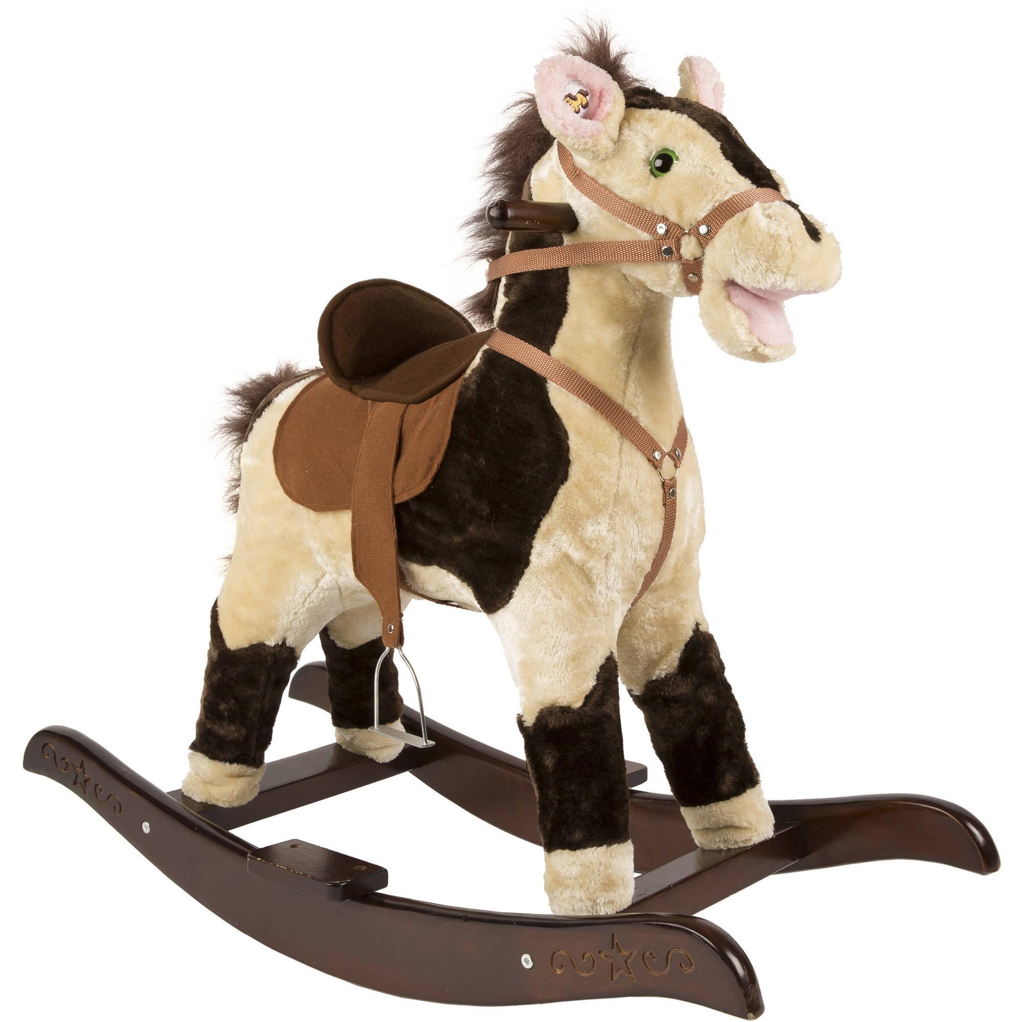 rockin' rider sheriff rocking horse  walmartcom -