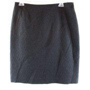 Tahari By ASL NEW Blue Pebble Jacquard Women's Size 2 Straight Pencil Skirt