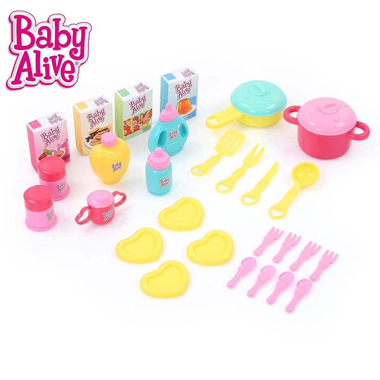 Baby Alive Cook /'N/' Care 3-in 1 Set 28 Accessori