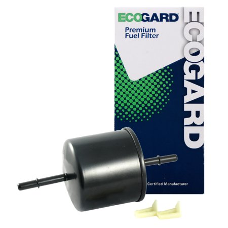 ecogard xf64711 engine fuel filter - premium replacement fits ford f-150,  explorer,