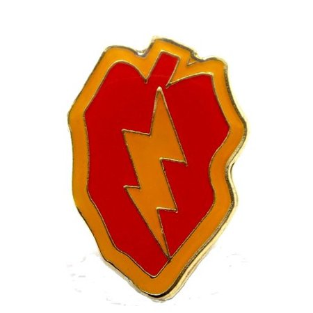 US Army 25th Infantry Division Lapel Pin