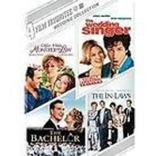 4 Film Favorites: Wedding Collection - Monster-In-Law / The Wedding Singer / The Bachelor / The In-Laws