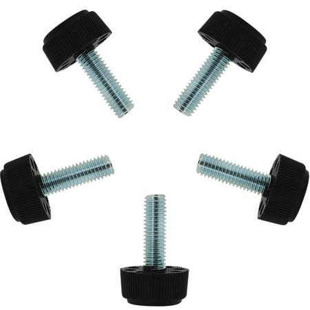 Cabinet Leg Levelers (M8 x 25 x 23mm Leveling Feet Adjustable Leveler for Furniture Cabinet Leg 5pcs )