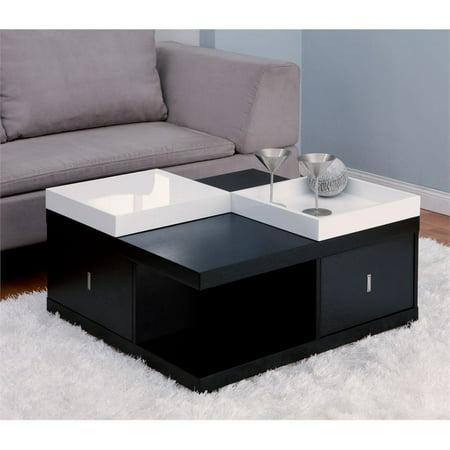 Furniture of America Stein Coffee Table in Black ()