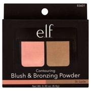 e.l.f. Cosmetics Blush & Bronzing Powder, Blushed/Bronzed St. Lucia, 0.28 oz