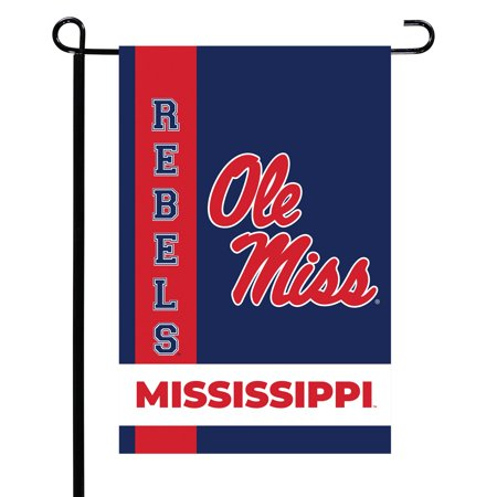 Ole Miss Rebels Team Garden Flag - No Size Rebel Confederate Flag