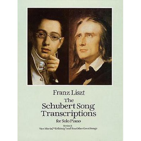 Dover Music for Piano: The Schubert Song Transcriptions for Solo Piano/Series I - Halloween Theme Song Piano Music