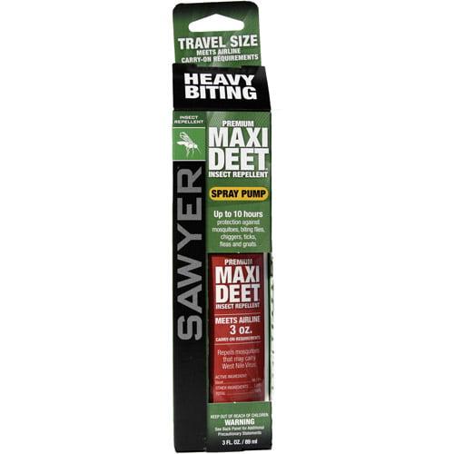 Sawyer Products Premium MAXI-DEET Insect Repellent, 3 oz