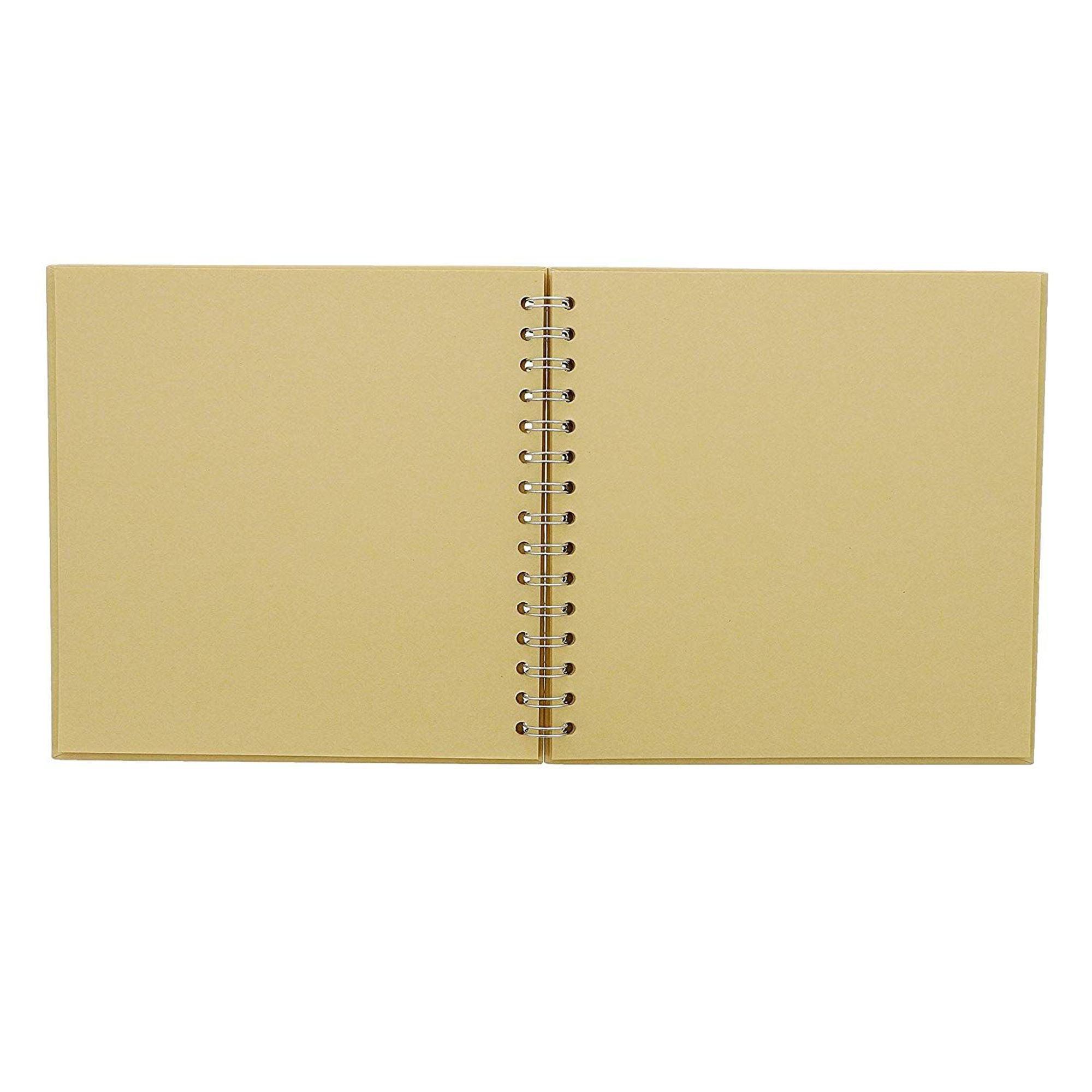 "40 Sheet 80 Pages Hardcover Scrapbook for DIY Handmade Photo Album 13/"" x 8.25/"""