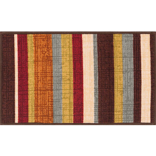 """Mainstays Madras Accent Rug, Multi-Color, 17.3"""" x 30.3"""""""