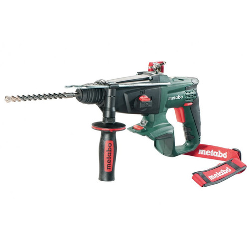 Metabo 600210890 18V Cordless Lithium-Ion Brushless 1 in. SDS-Plus Combination Rotary Hammer (Bare Tool)