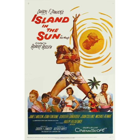 Island in the Sun - movie POSTER (Style A) (11