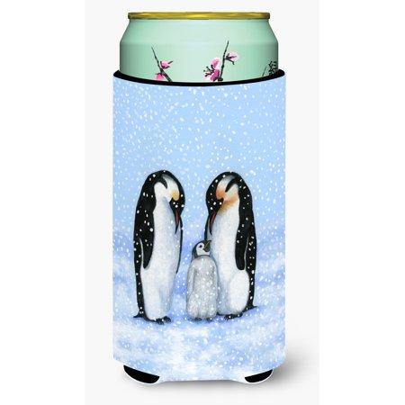 Penguin Family by Daphne Baxter Tall Boy Beverage Insulator Hugger BDBA0427TBC