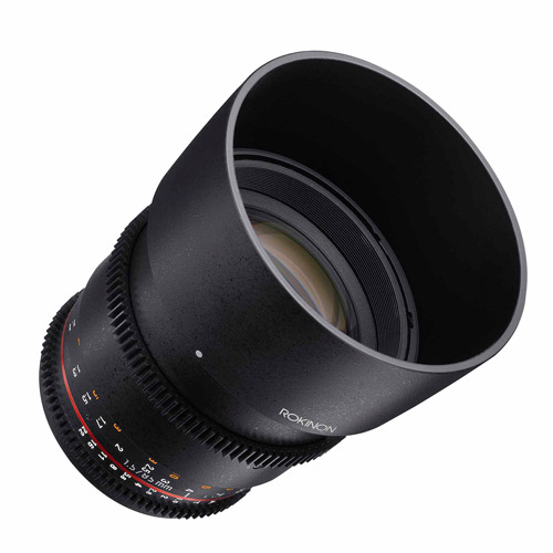 ROKINON 85mm T1.5 Cine Aspherical Lens for Sony E-Mount Cameras