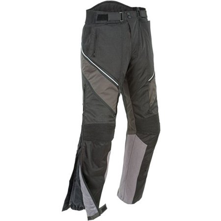 Joe Rocket Alter Ego 2.0 Mens Black/Grey Textile Motorcycle -