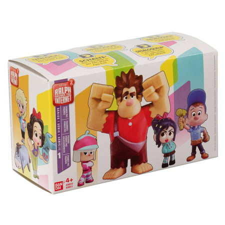 Series 802.11a/b/g Mini (Bandai America - Wreck it Ralph 2 Power Pack Mini Figures 2 Pack, Series 1 Blind Pack )
