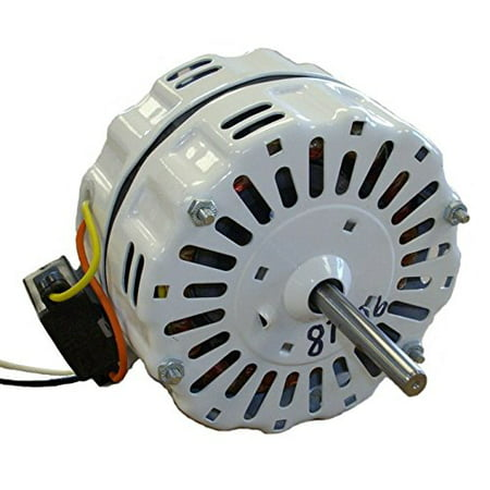 Nutone Gable Vent Fan Motor # D0810B2779 (GF1200N) 1725 RPM, 4.1 Amp, 115 volts, 60hz. #87406