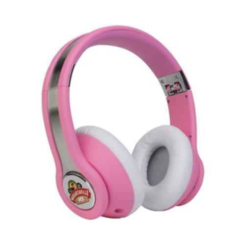 Margaritaville MARGARITAVILLE MIX1 PINK On-Ear Monitor Headphones with Microp...