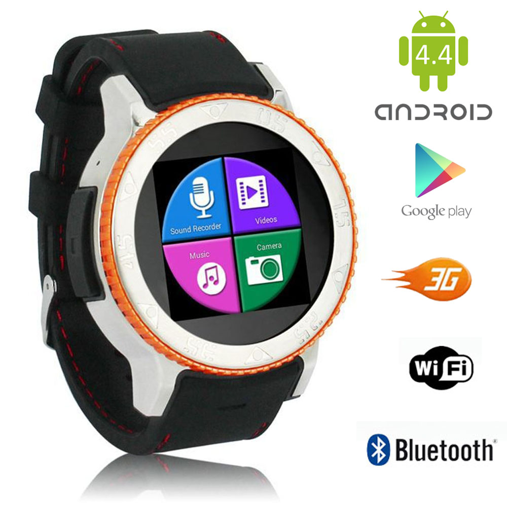 inDigi 3G (Factory Unlocked) 2-in-1 S7 SmartWatch & Phone...