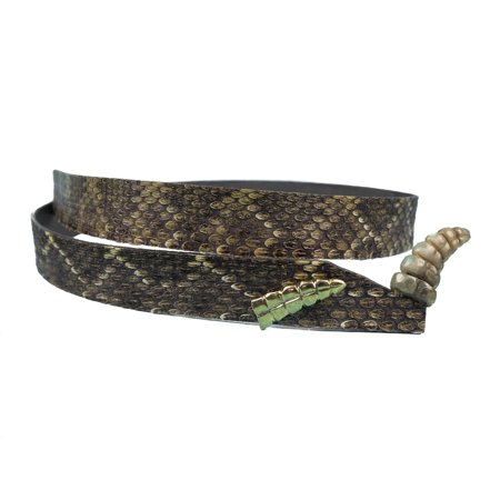 - 3/4 inch Real Rattlesnake Hat Band with Rattle