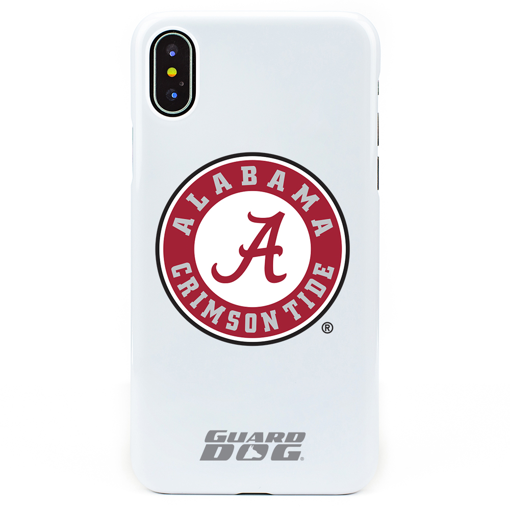 Alabama Crimson Tide Case for iPhone X / Xs - White