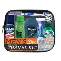 Deals on Men's Get Away 10 pc Travel Kit