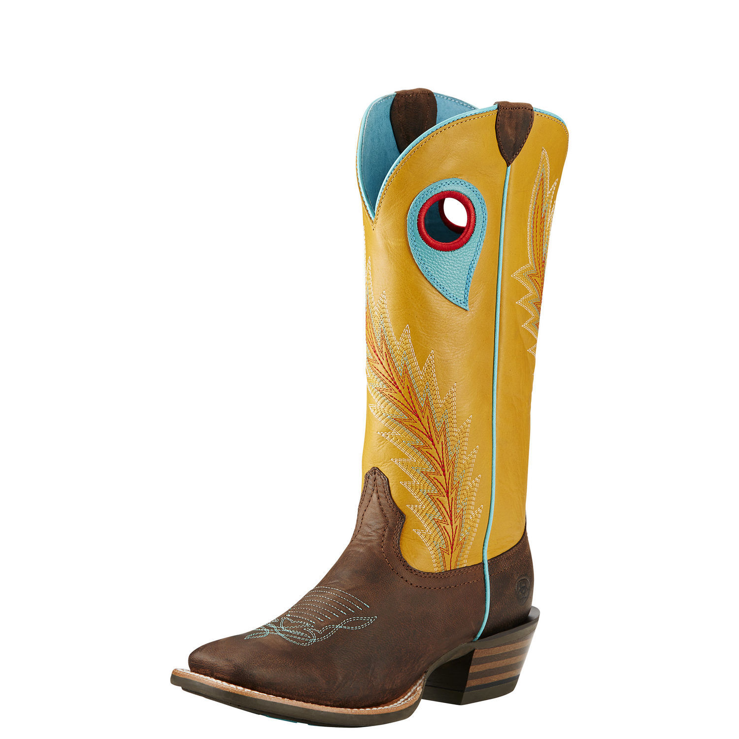 Ariat Desperado Square Toe Leather Western Boot by Ariat