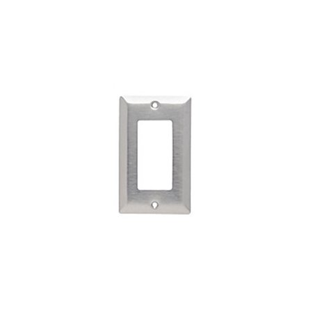 Pass and Seymour SL262 Magnetic Stainless Steel Single Gang Decorator Wall Plate