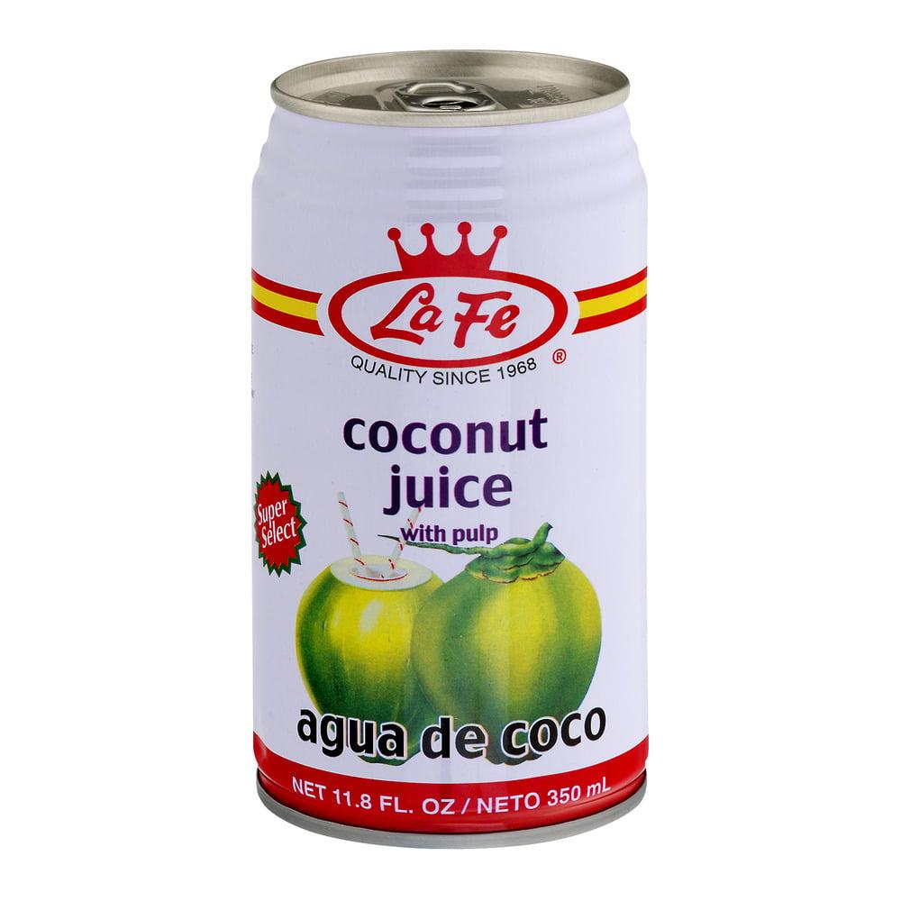 La Fe Coconut Water W/ Pulp