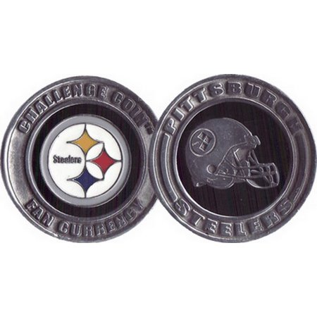 Brybelly Challenge Coin Card Guard - Pittsburgh Steelers, GGAP-025