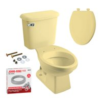 Peerless Pottery K-7660-05 Hancock Elongated Toilet Kit with Seat