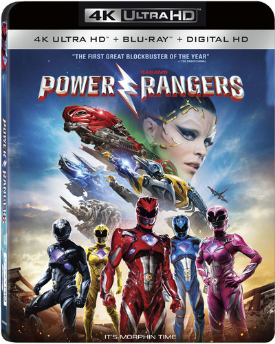 Saban's Power Rangers (4K Ultra HD + Blu-ray + Digital HD)
