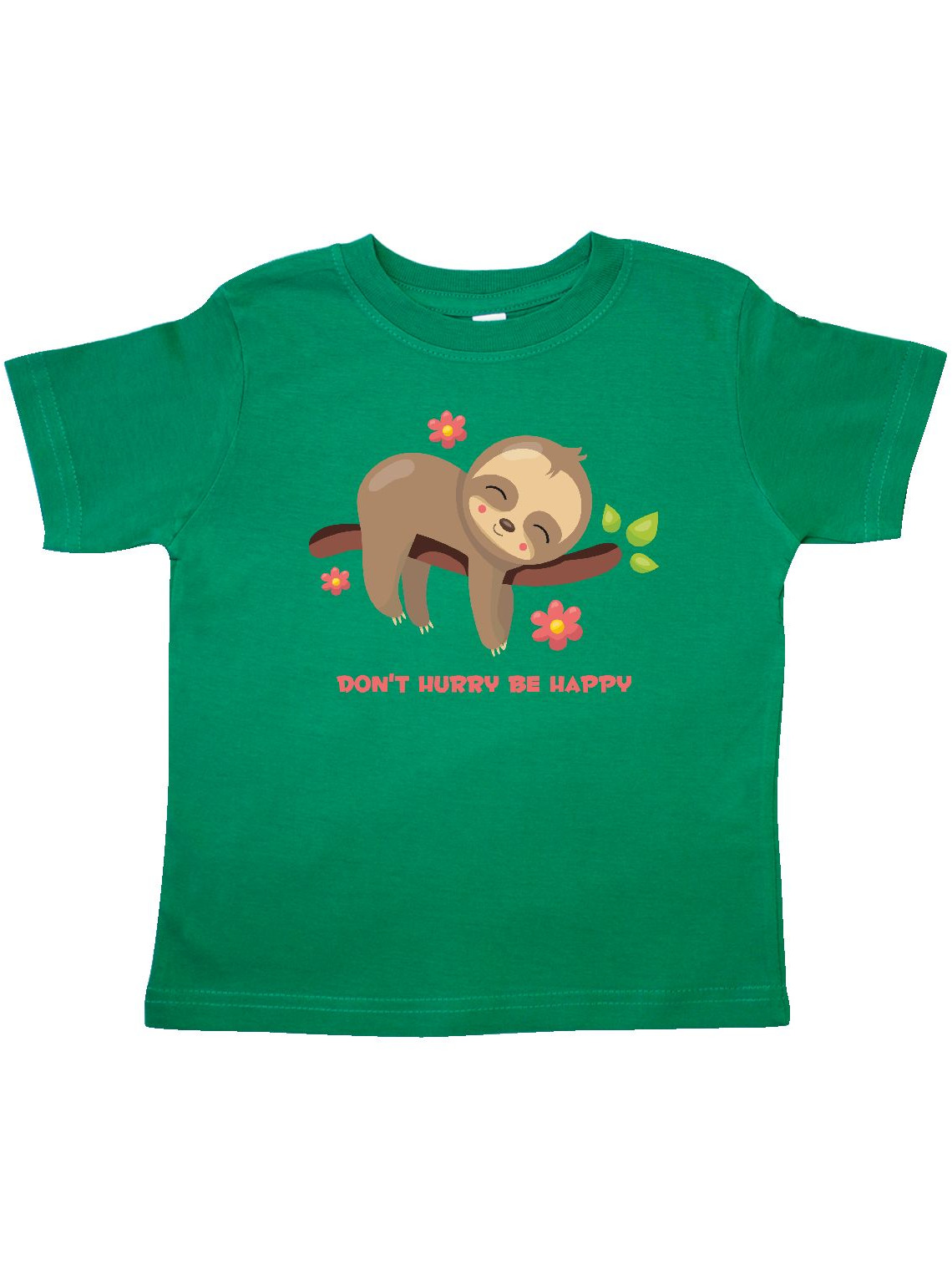 Don't Hurry Sloth Toddler T-Shirt