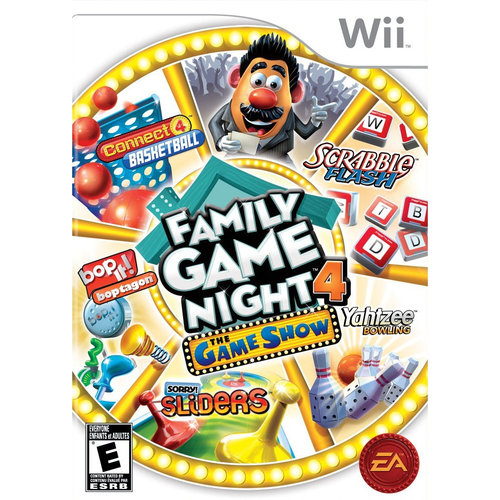Hasbro Family Game Night 4 The Game Show - Wii
