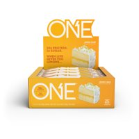 ONE Protein Bar, Lemon Cake, 20g Protein, 12 Ct