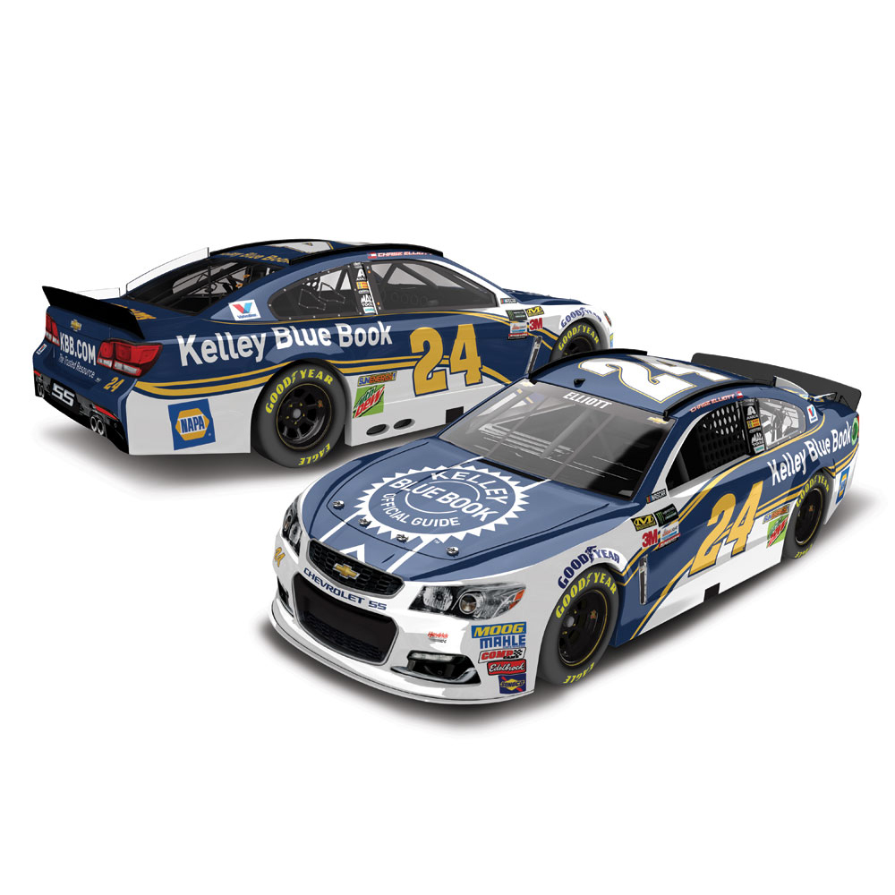 Chase Elliott Action Racing 2017 #24 Kelley Blue Book 1:24 Monster Energy Nascar Cup... by Lionel LLC