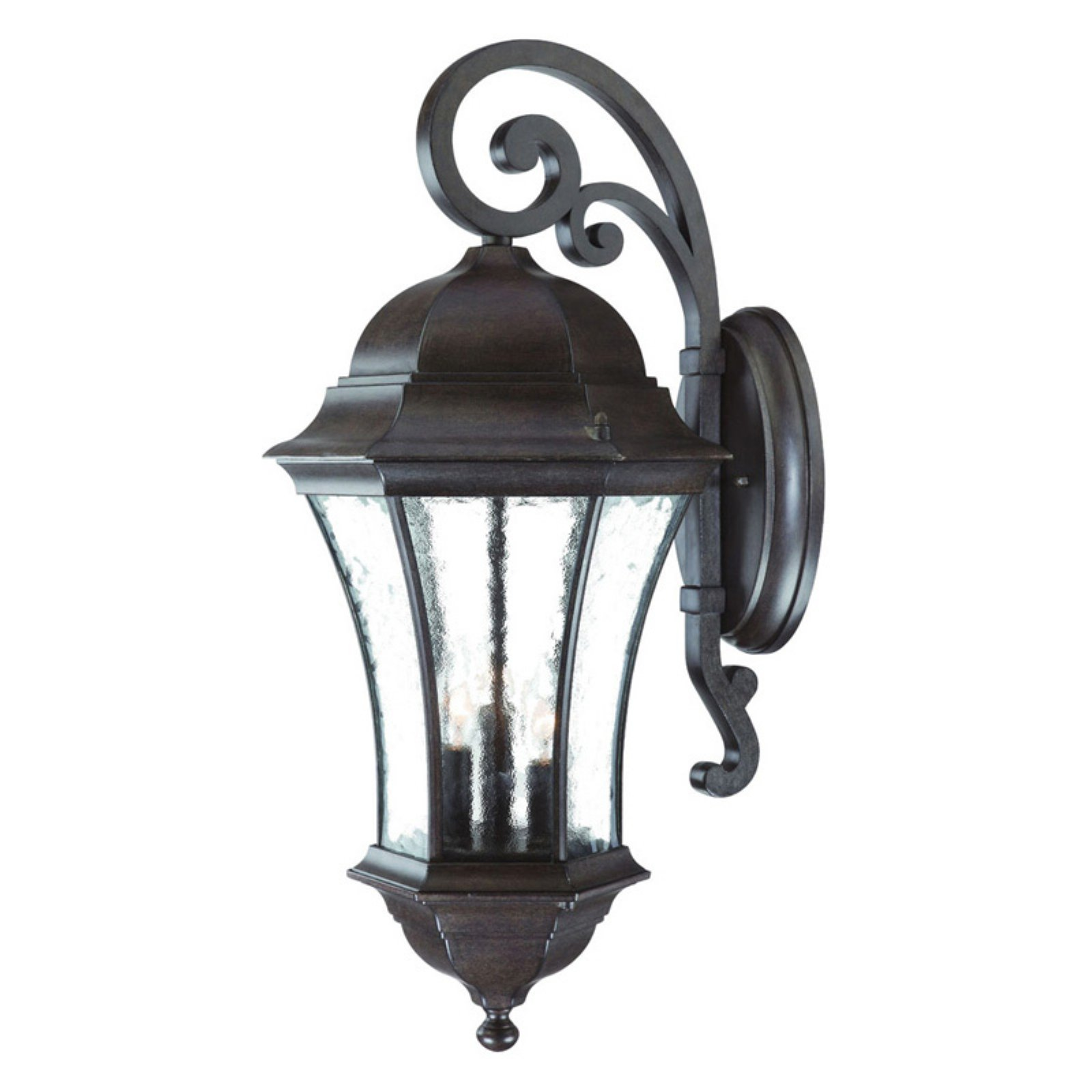Acclaim Lighting Waverly 12.5 in. 3 Light Outdoor Wall Mount Light Fixture