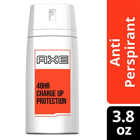 AXE Dry Spray Antiperspirant Deodorant for Men Charge Up Protection 3.8 oz.(pack of 3) ()