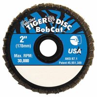 Bobcat Flat Style Flap Discs, 2 in, 40 Grit, 30,000 rpm, Sold As 1 Each by