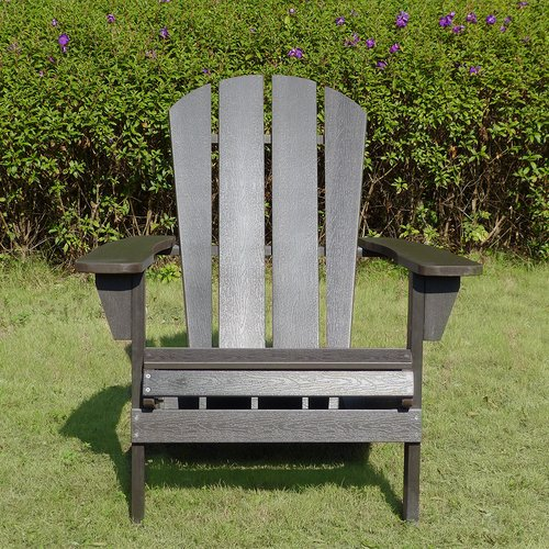Astounding Faux Wood Adirondack Chair Espresso Merry Products Cjindustries Chair Design For Home Cjindustriesco