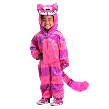 Halloween Girl's Cheshire Cat Jumpsuit Child Costume