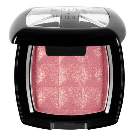 NYX Powder Blush-NXPB27 Summer Peach + Cat Line Makeup Tutorial