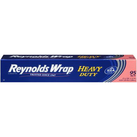 Reynolds Wrap Heavy Duty Aluminum Tin Foil, 95 Square Feet