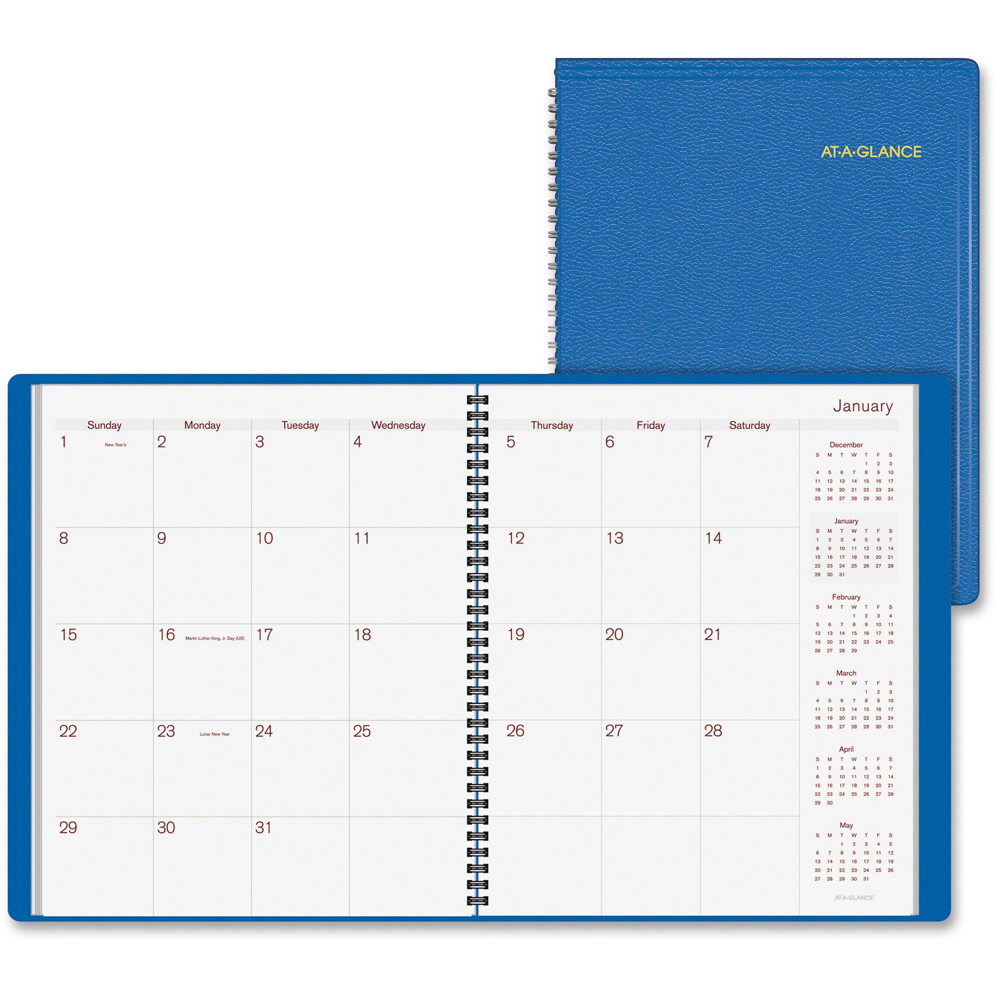 At-A-Glance Fashion Color Monthly Planner