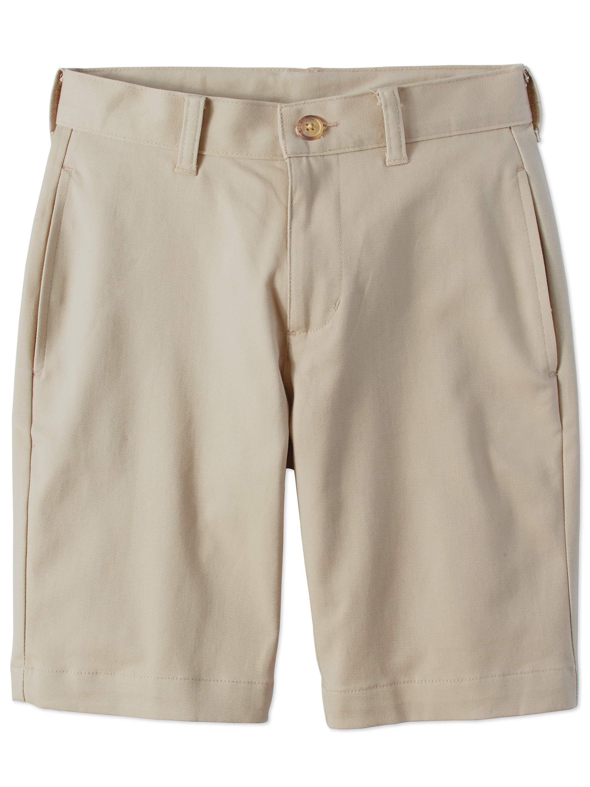 Boys Prep School Uniform Super Soft Flat Front Shorts