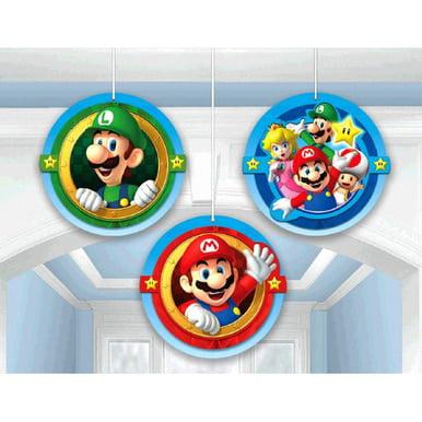 Super Mario Brothers Honeycomb Decorations - image 1 de 1