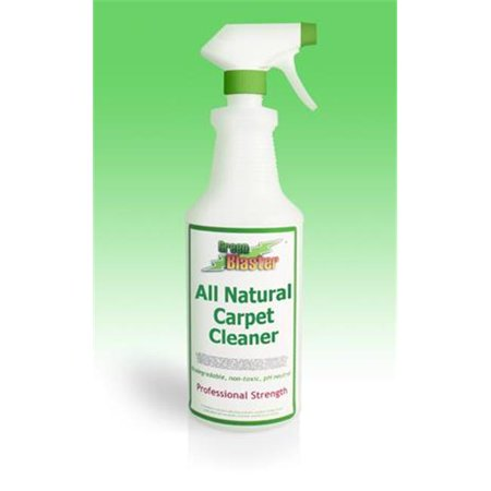 Green Blaster Products GBCC8S All Natural Professional Strength Carpet Cleaner 8oz Small Sprayer