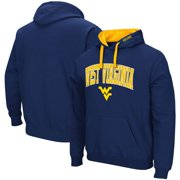 West Virginia Mountaineers Colosseum Arch & Logo 2.0 Pullover Hoodie - Navy