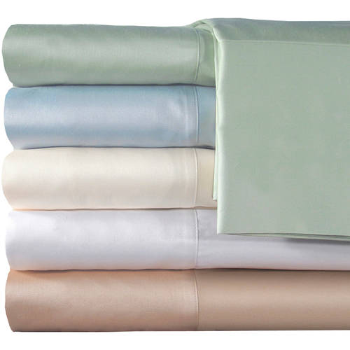 Veratex, Inc. Supreme Sateen 300-Thread Count Solid Pillowcases, 2pk