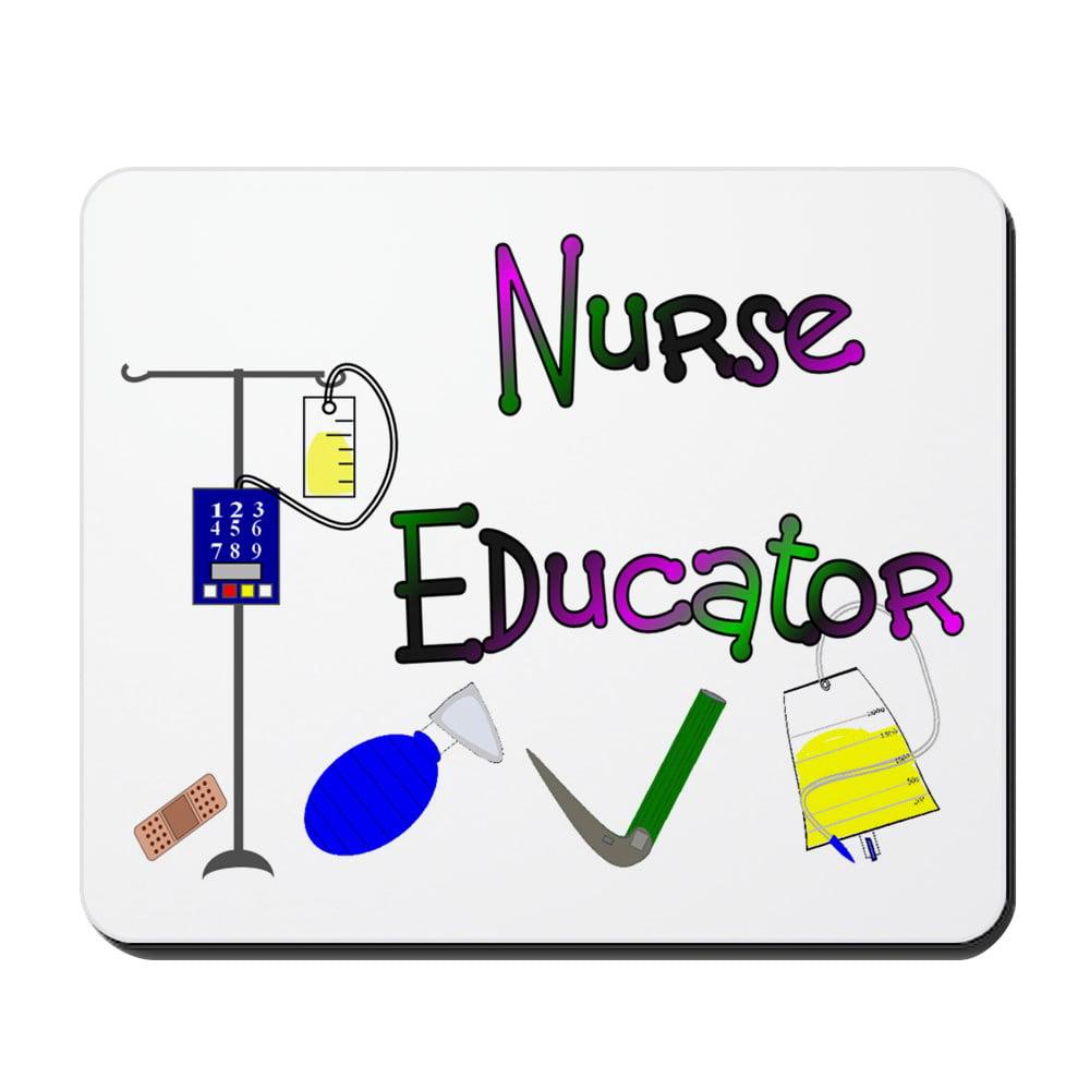 CafePress - Nurse Educator - Non-slip Rubber Mousepad, Gaming Mouse Pad
